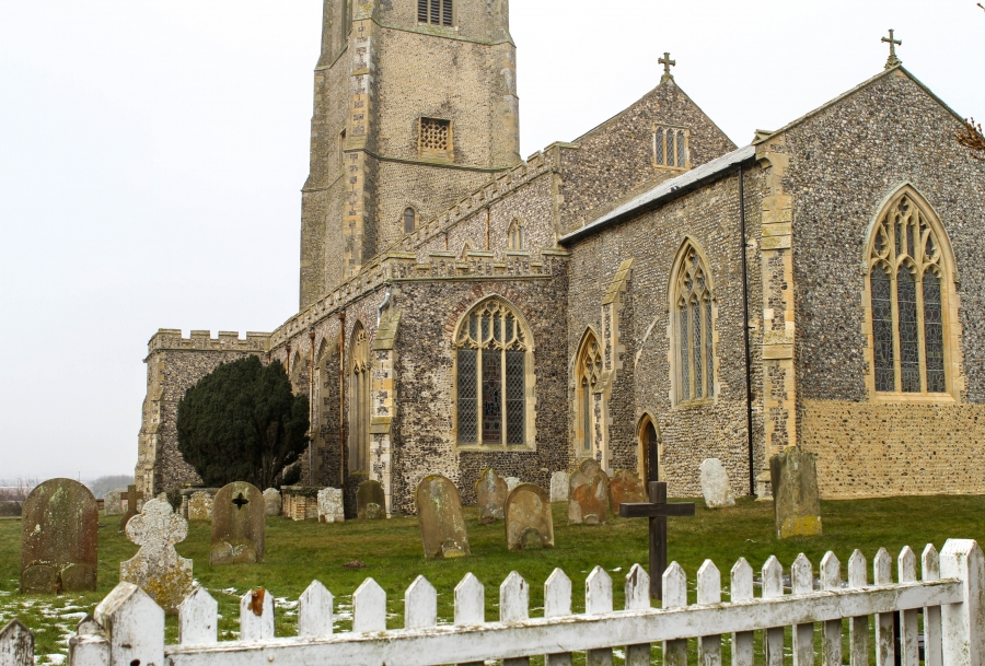 St. Mary's Church in Happisburgh