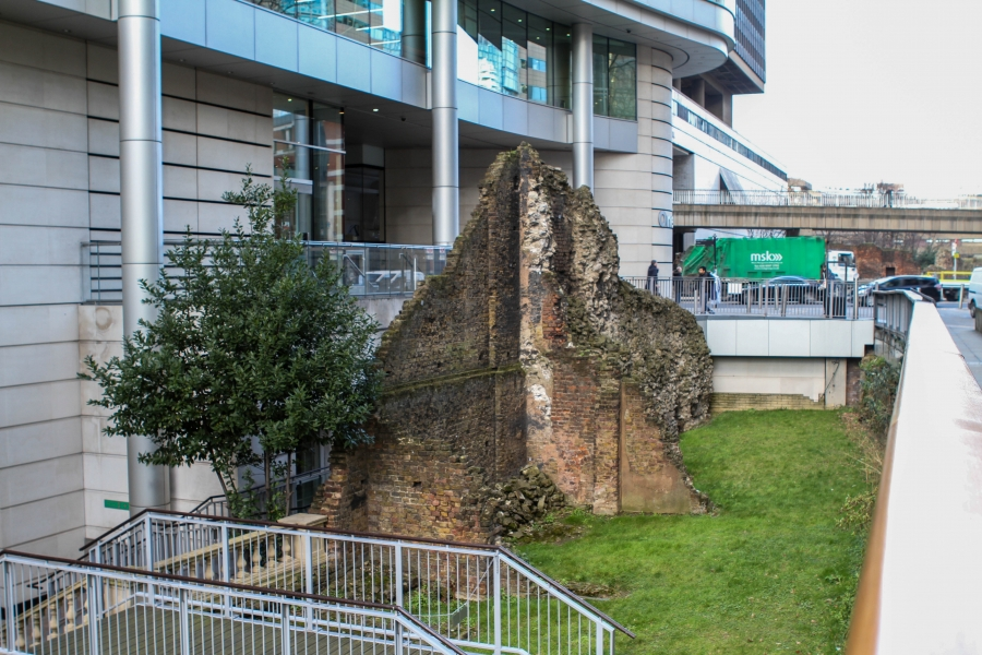 City of London's ancient defensive wall