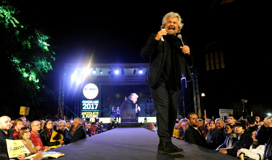 5 Star movement founder Beppe Grillo