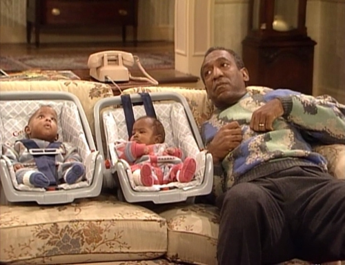 In The Cosby Show Cliff Huxtable's eldest daughter Sondra names her twins Winnie and Nelson in honor of Winnie Mandela and Nelson Mandela.