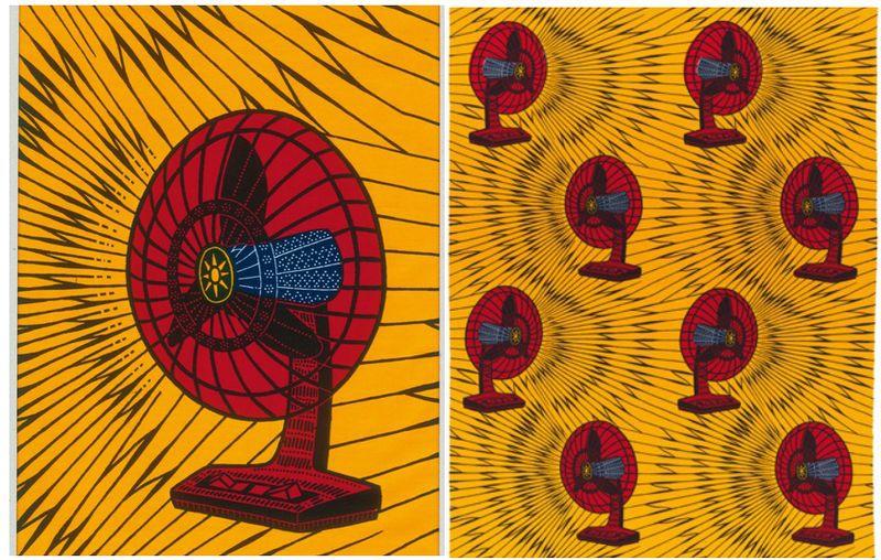 The Fan Ventilateur pattern