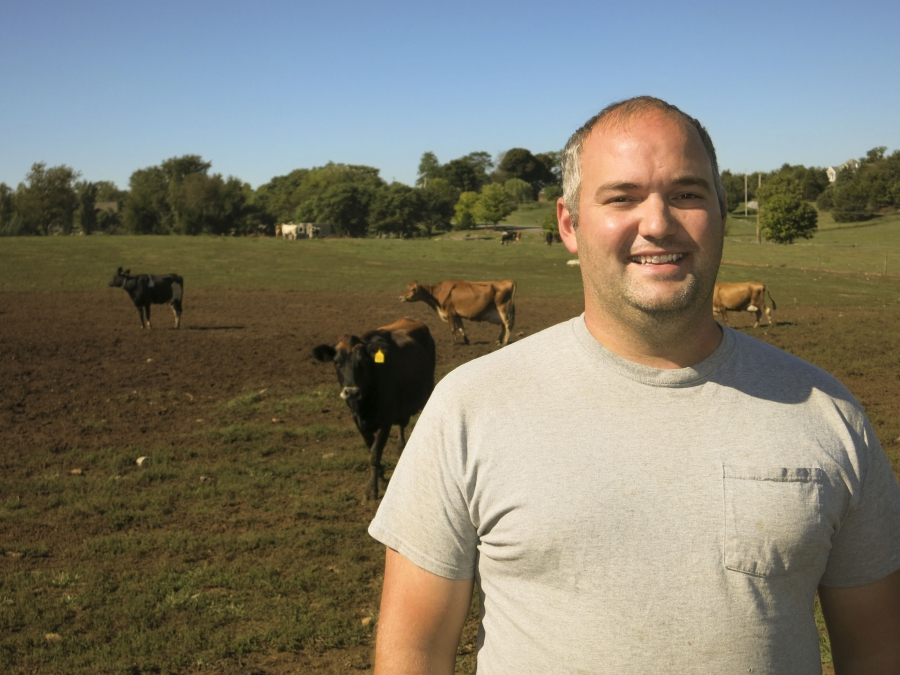 Mark Fulton's family has been milking cows in Pennsylvania since 1950.
