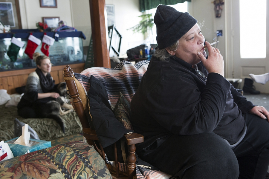 Many Standing Rock protestors sought refuge in neighboring towns.