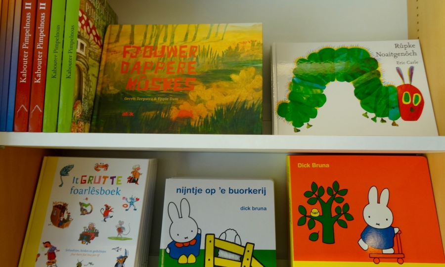 Many children's books are translated into Frisian.