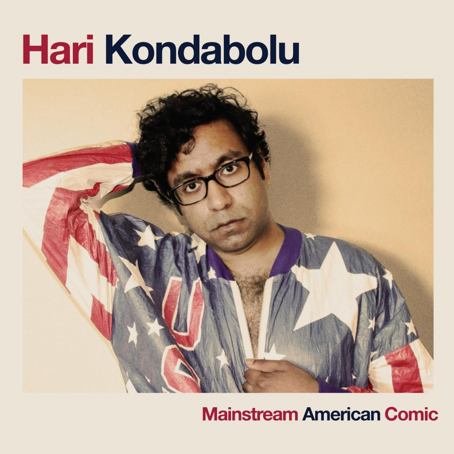 Album cover with Kondabolu is USA jacket