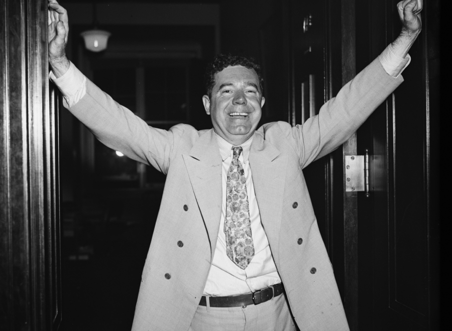 """""""Every Man a King"""" was one of Huey Long's populist slogans."""
