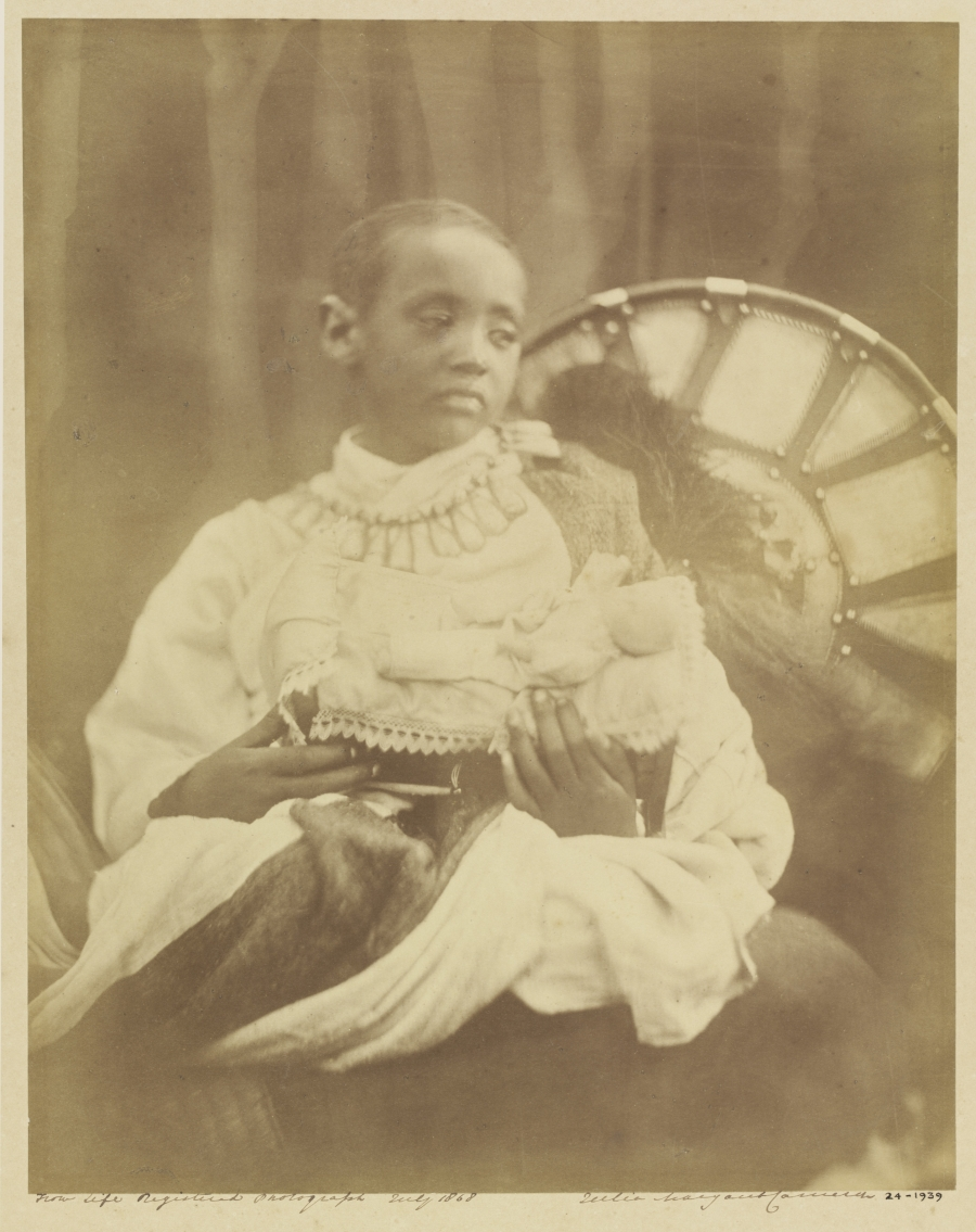 photo of prince alamayou taken in 1939