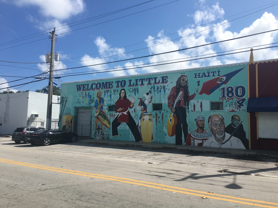 Mural in Little Haiti