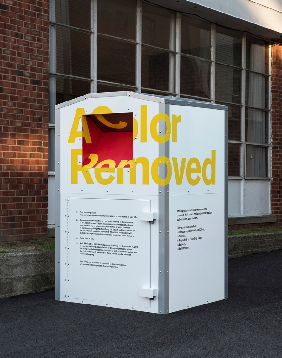 "Michael Rakowitz, ""A Color Removed,"" 2018"
