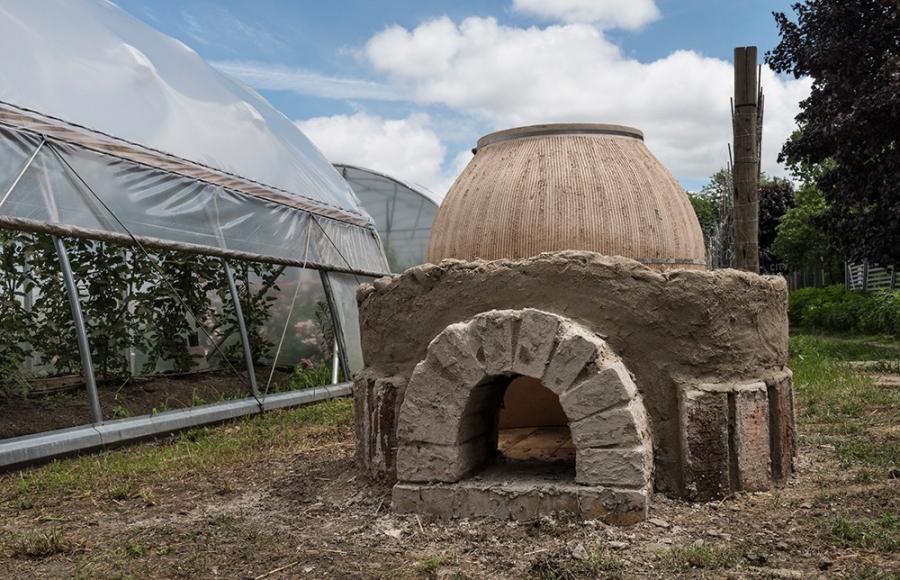 Tandoori ovens created by John Riepenhoff.