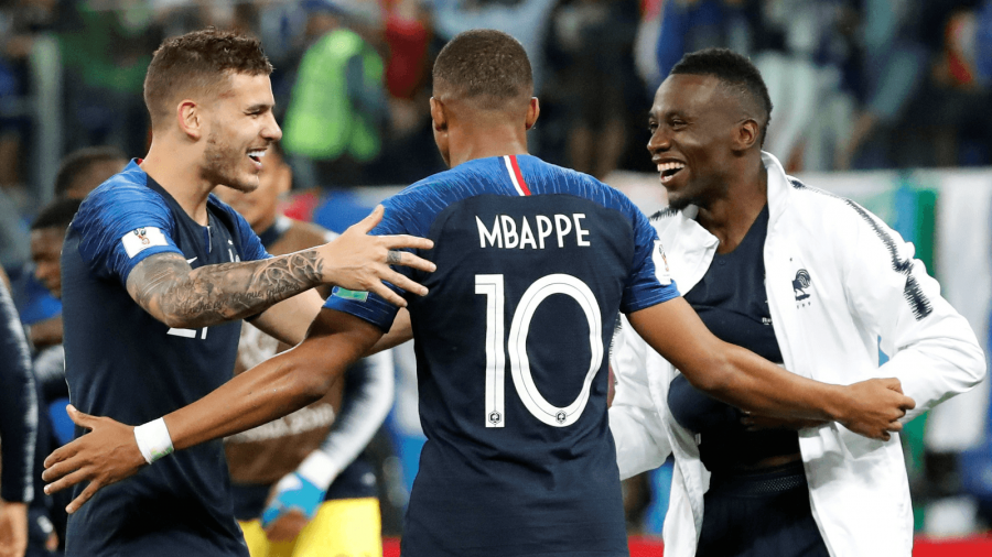 french soccer players at the world cup