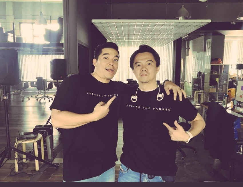 "OmiseGO founders Jun Hasegawa and Ezra ""Don"" Harinsut at their headquarters in Bangkok, Thailand."