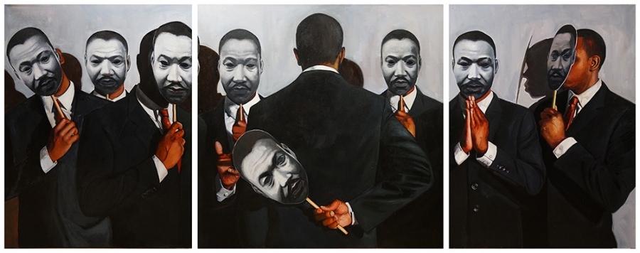 """Congregation, MLK,"" by Tylonn Sawyer"