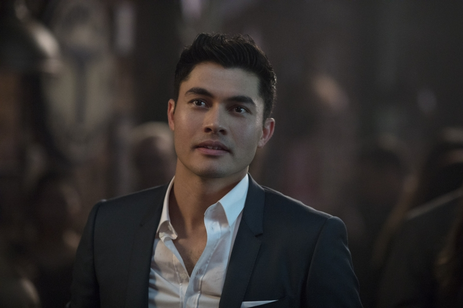 Henry Golding plays Nicholas Young
