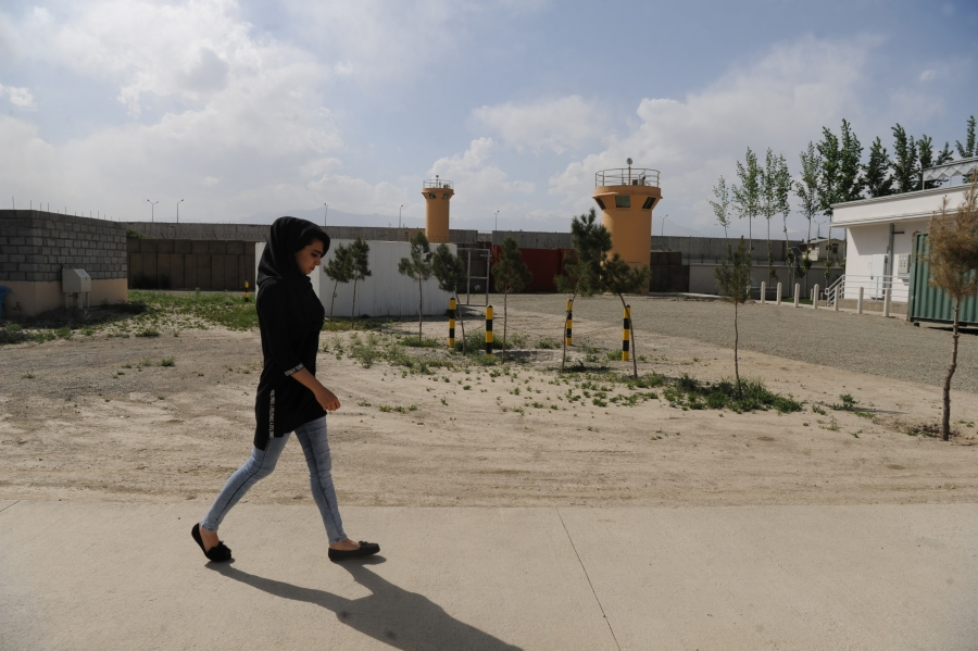 Two years after the attack on the American University in Kabul, school officials have stepped up security. That means the campus has the look and feel of a military compound.