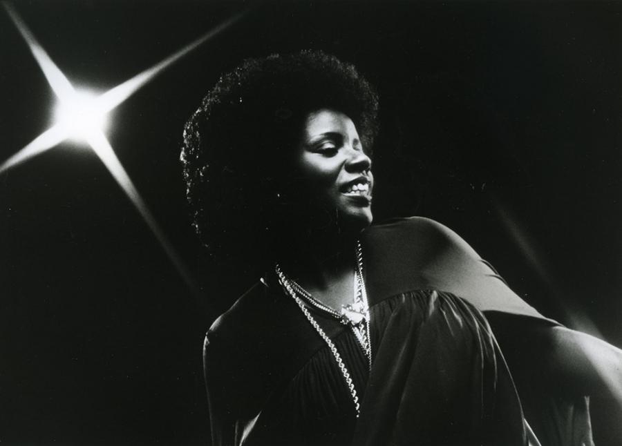 Gloria Gaynor performs in 1975.