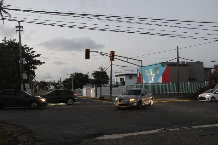 intersection in San Juan