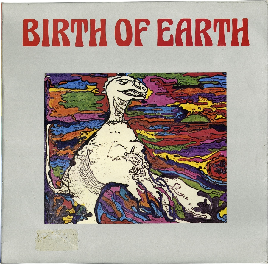 """Birth of Earth,"" a 1980 record by Joel Vandroogenbroeck for the German library Coloursound."