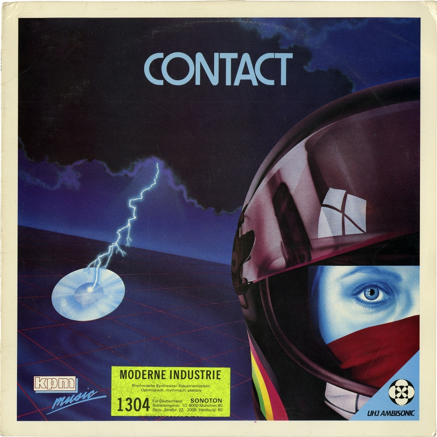 """Contact,"" a 1983 record by Keith Mansfield & Richard Elen for the British library KPM."