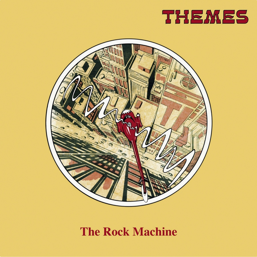 """The Rock Machine,"" a 1973 record by Alan Hawkshaw & Alan Parker for the British library Themes International."