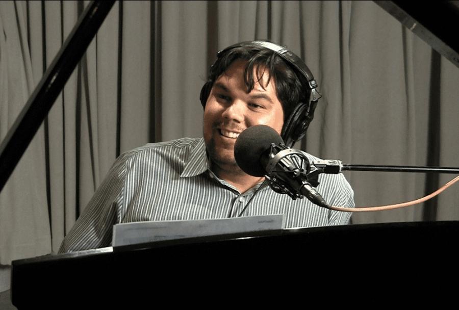 Robert Lopez performs in studio in 2011.