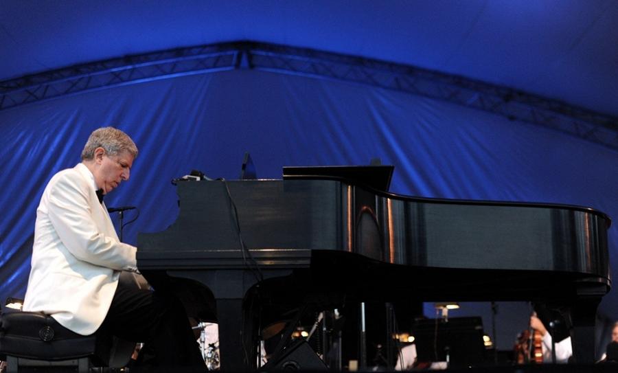 Composer Marvin Hamlisch performs in 2011.