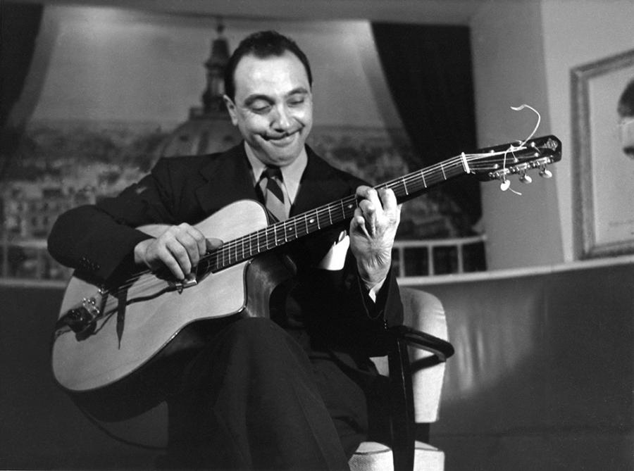 Jazz musician Django Reinhardt