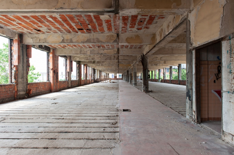 One of Detroit's iconic urban ruins is slowly coming back