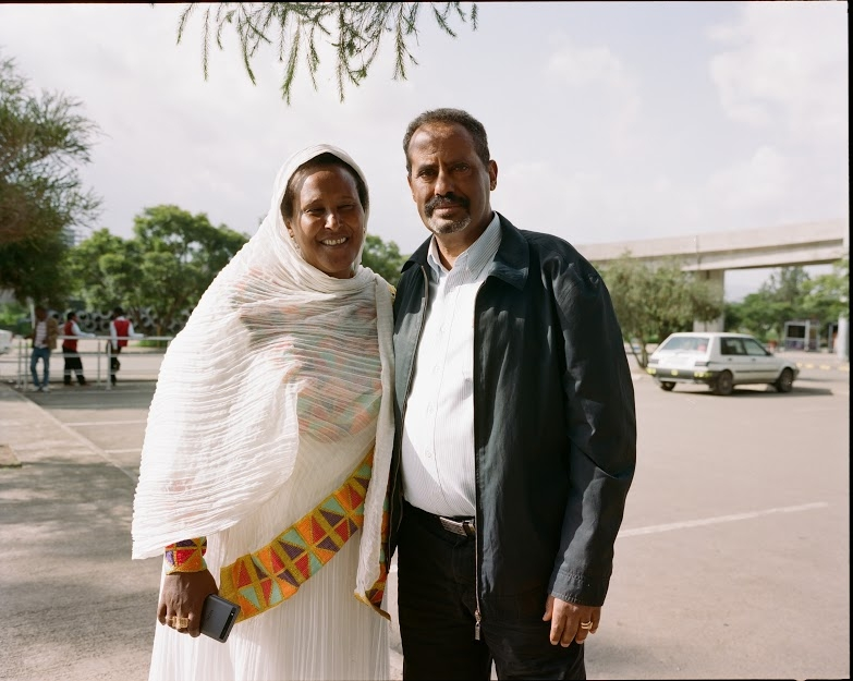 Zala Mekonnen's mother and uncle