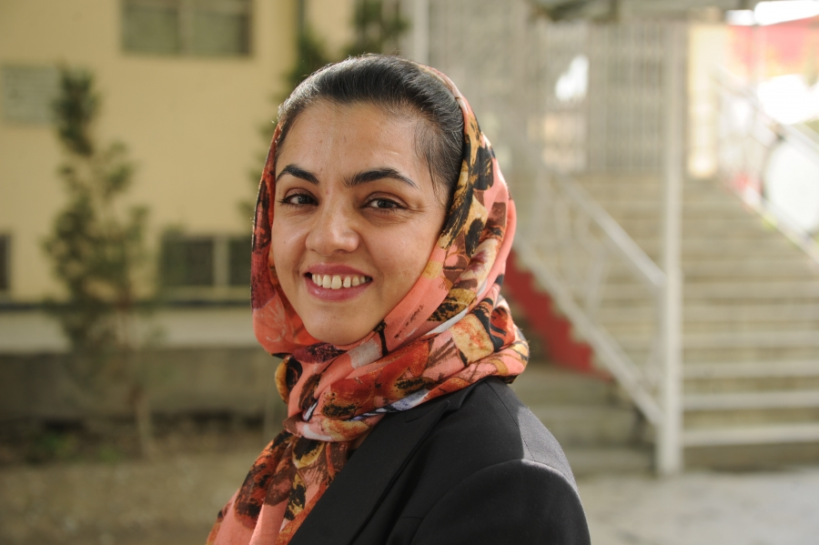 Feroza Mushtari is the health adviser to Afghanistan's first lady. She is also a long time advocate for maternal health in the country.