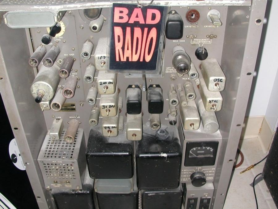 WBAD radio transmitter