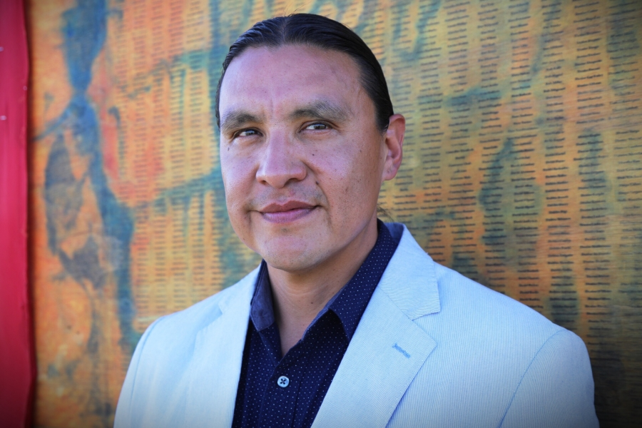 portrait of Chase Iron Eyes
