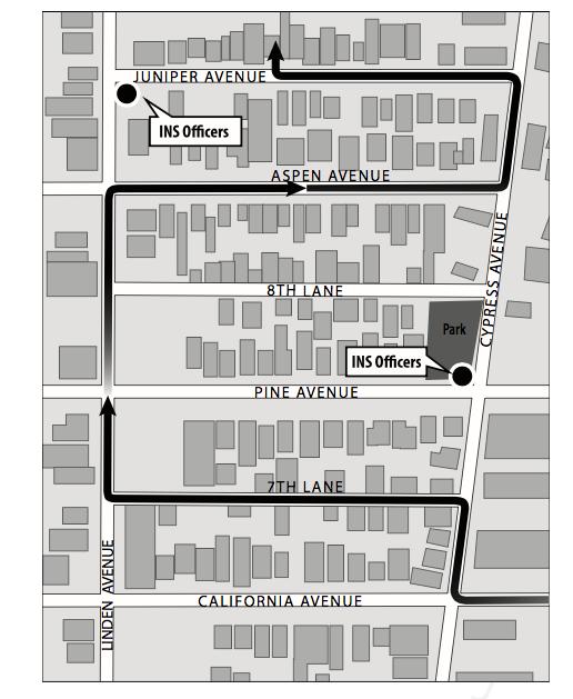 Movement map