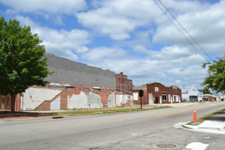 downtown lumberton, north carolina