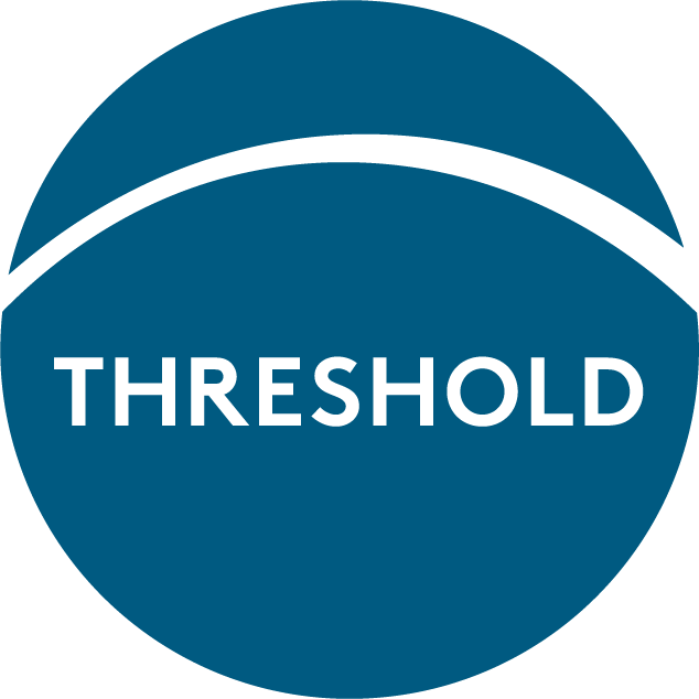 The logo for the Podcast Threshold
