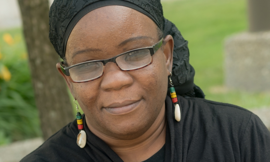 Activist Mariame Kaba.