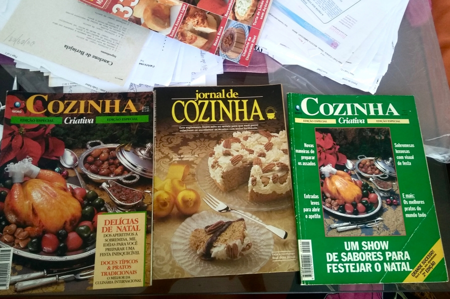 three Brazilian cookbooks in a row