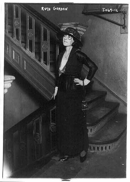 Ruth Gordon in 1896.