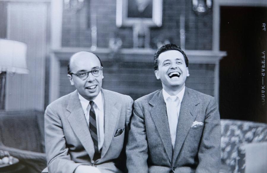 Ahmet and Nesuhi Ertegun