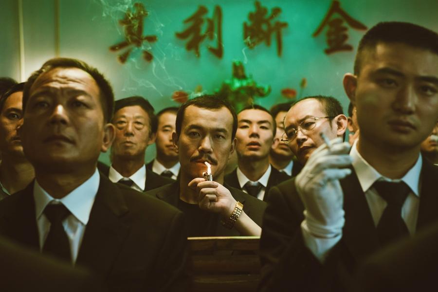 """Liao Fan as Bin in """"Ash is Purest White."""""""
