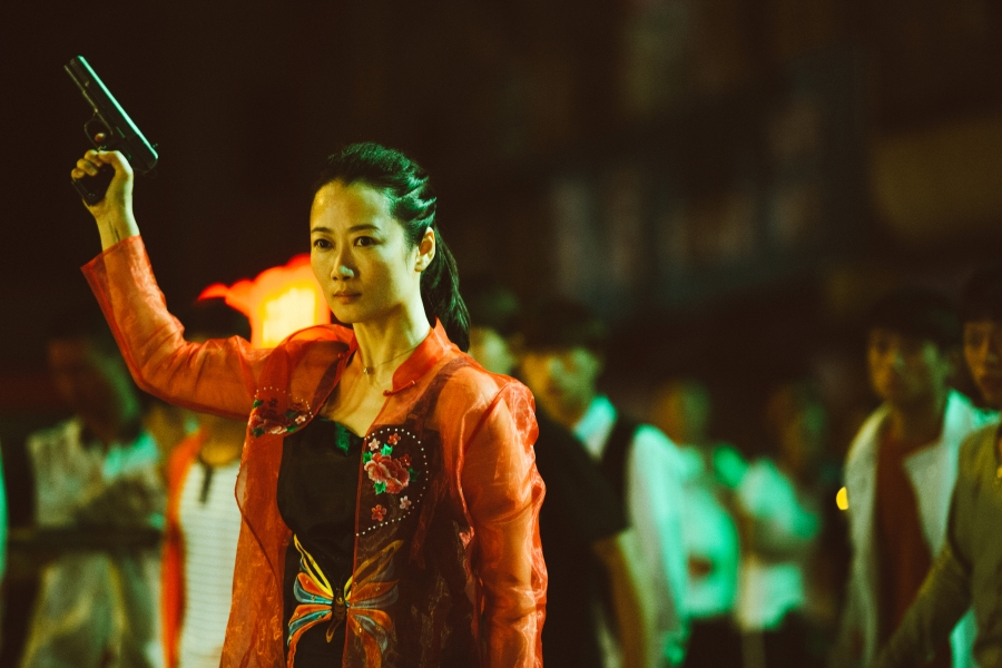 """Zhao Tao as Qiao in """"Ash is Purest White."""""""