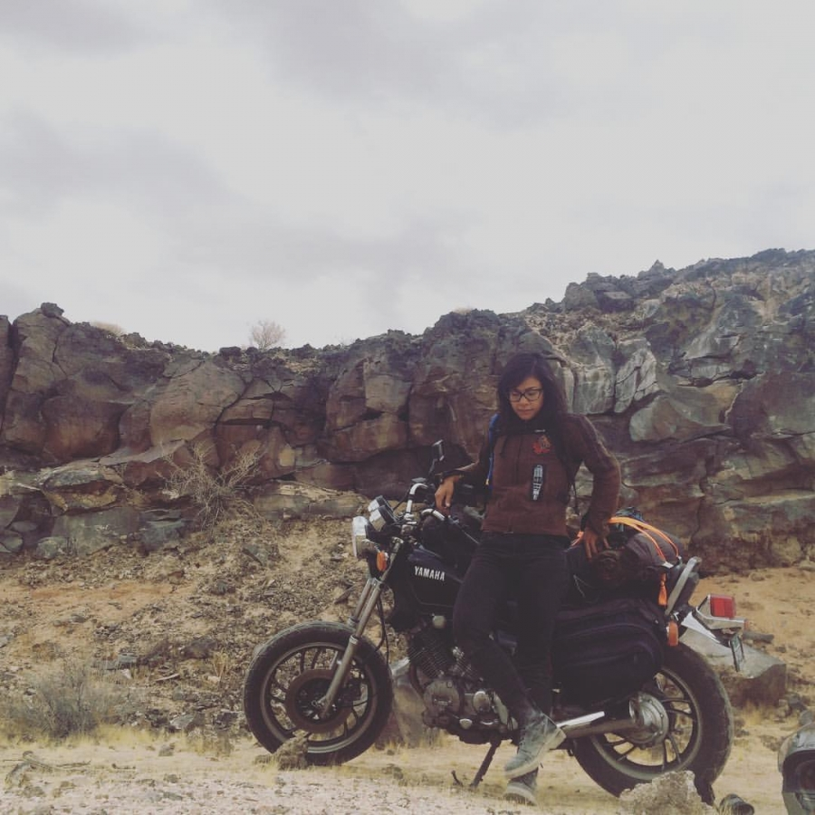 Reporter Tiffany Camhi has been riding motorcycles since 2015