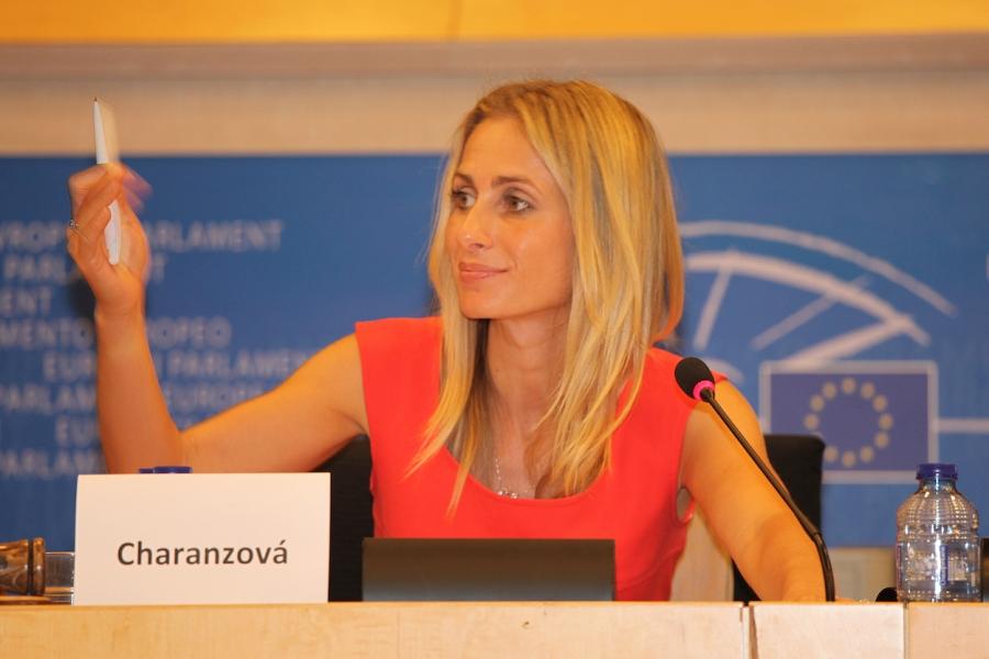 Dita Charanzová, a Czech member of European Parliament.