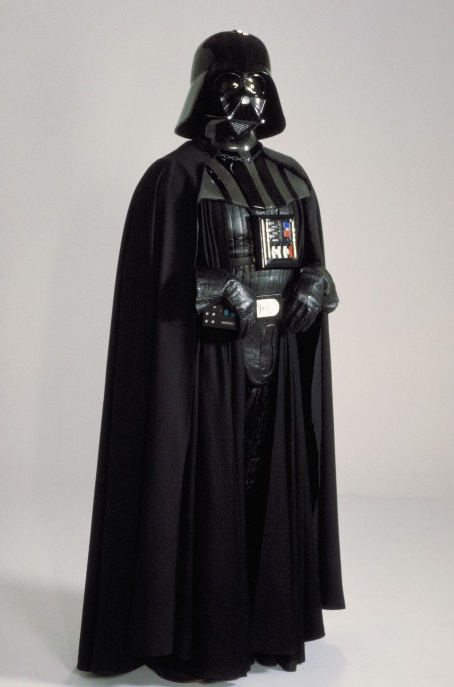 Darth Vader. Costume Design by John Mollo, Star Wars: A New Hope (1977)
