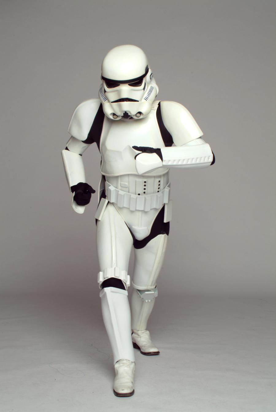 The Stormtrooper costume created by John Mollo.
