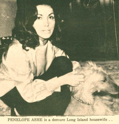 The photo of Billie Young (and her Russian wolfhound) that was used on the book jacket.