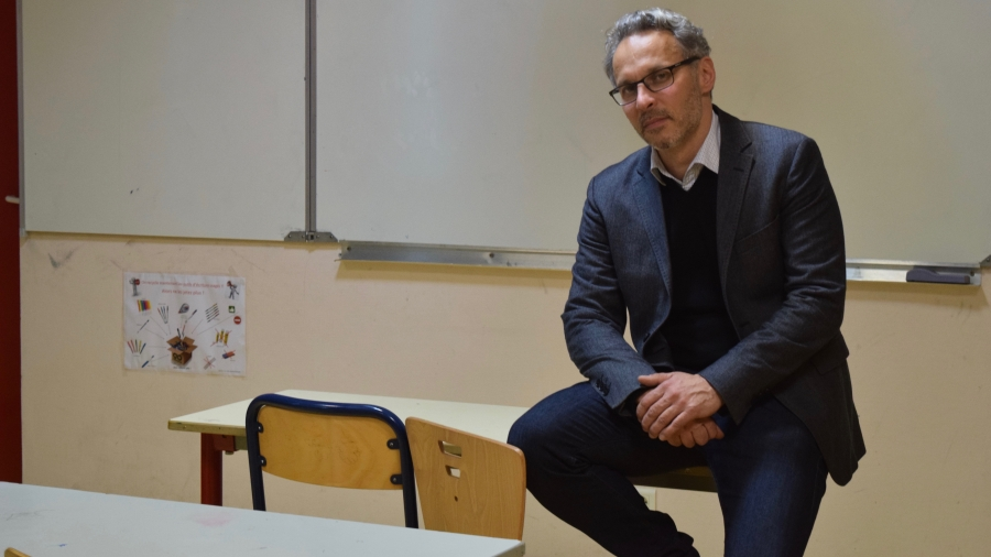 "Iannis Roder, a historian and public school middle school teacher in the Paris suburb of Seine-Saint-Denis, calls the French Education Ministry's approach to Holocaust education ""a failure."""