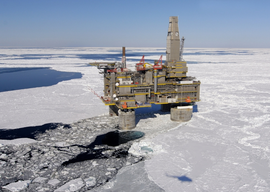 An oil and gas project near Sakhalin Island depends on foreign investment and expertise.