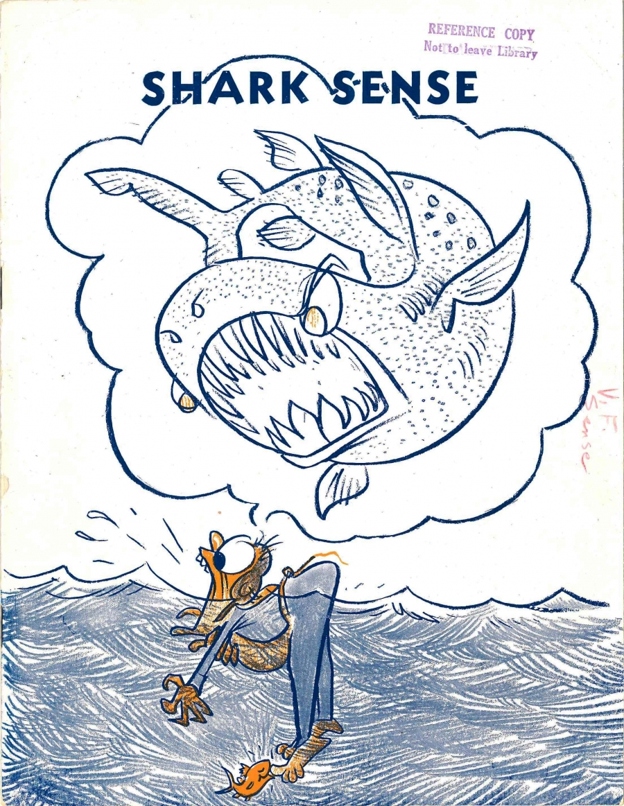 'Shark Sense' sought to prepare troops for encounters with the marine predators.