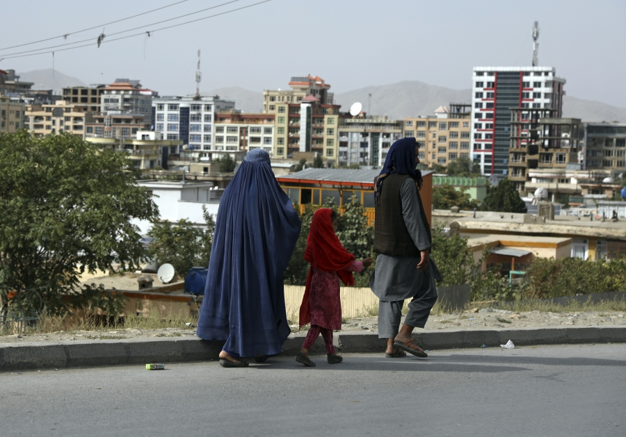Kabul has changed quite a bit in two decades.